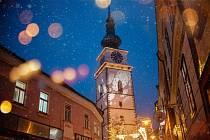 Rozsvěcení vánoční výzdoby v Třebíči
