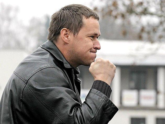 Třebíčský kouč Petr Vašíček.