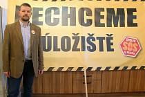 Petr Andrýsek ze spolku SOS Na Skalním.
