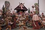 Vánoční výstava betlémů v Třebíči v roce 2018.