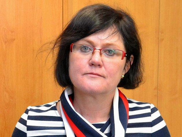 Ředitelka Nemocnice Třebíč Eva Tomášová.