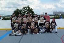 Hokejbalisté z Přibyslavic ovládli turnaj v Brně.
