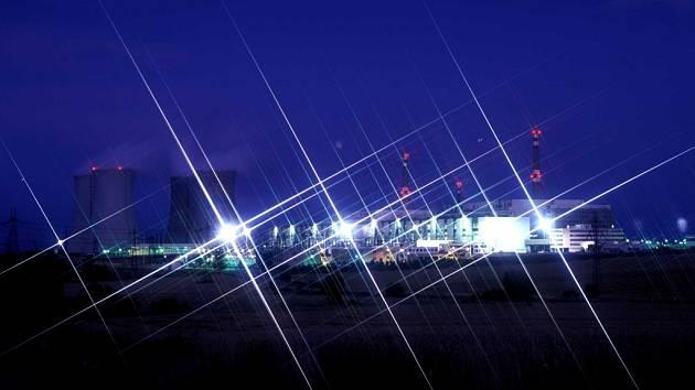Noční prohlídky jaderné elektrárny nabídla vůbec poprvé veřejnosti skupina ČEZ.