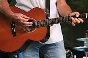 Pavol Hammel na Folkových prázdninách v Náměšti nad Oslavou.