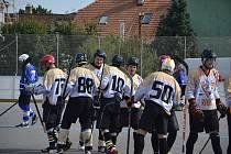 Hokejbalisté Přibyslavic si připsali v nové sezoně první domácí výhru
