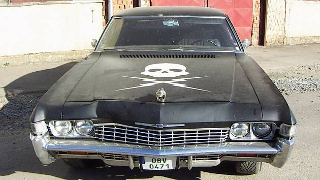 Třebíčská Impala byla vyrobena v roce 1967.
