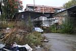 Průmyslová zóna v Pelhřimově, ulice U Prostředního mlýna.