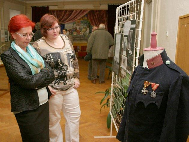 Výstava o první světové válce na radnici ve Starči.