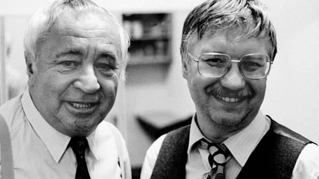 Miroslav Horníček a Richard Pogoda.