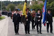 Takto slavili v roce 2014 významné výročí hasiči v Březníku.