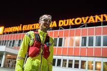 Extrémní běžec a dukovanský hasič Štěpán Dvořák.