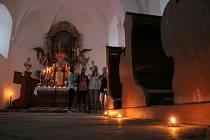 Noc kostelů v Třebíči.