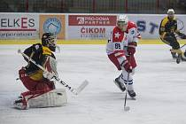 Ladislav Bittner (v bílém) udeřil proti Brodu dvakrát.
