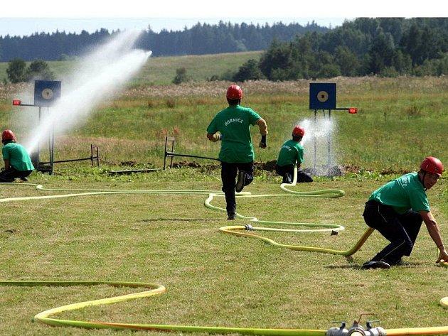 V roce 2009 se hornickým hasičům podařila delikatesa. Uspořádali soutěž v požárním sportu pro družstva s již málo využívanými stříkačkami PS8. Soutěž se v okolí dočkala velké obliby.