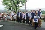 Pouť sv. JIljí obcí zfarnosti Ruda, Jabloňov a Březejc