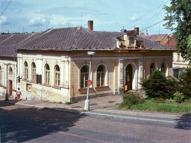 Stará Třebíč. Sokolovna ve Smrtelné ulici.