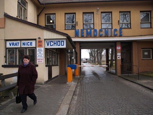 Třebíčská nemocnice.