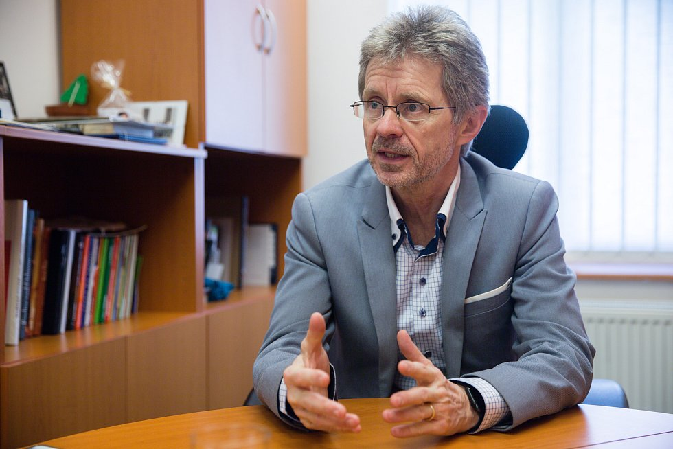 Miloš Vystrčil, předseda Senátu České republiky.