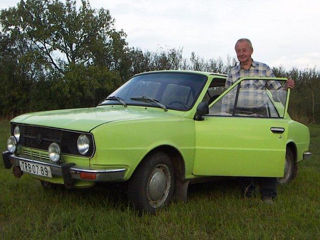 Škoda 120 Arnošta Dvořáka z Pyšela.