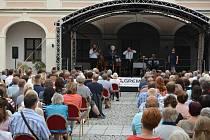 Na nádvoří Horácké galerie v Novém Městě na Moravě se uskutečnil koncert Hradišťanu