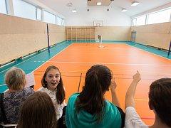 Slavnostní otevření nové tělocvičny na Základní škole Náměšť nad Oslavou Komenského 53.