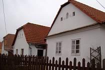Malebné venkovské stavby v Bačicích.