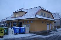 Obecní budova v Krokočíně.