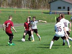 Už o dva góly prohrávali starší dorostenci Pelhřimova v divizním derby s H. Brodem. Po přestávce ale zabrali a otočili na konečných 3:2.