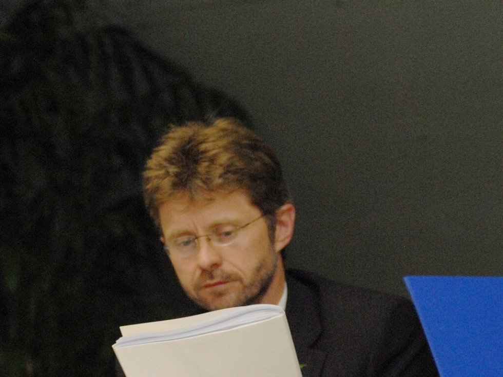 Hejtman Miloš Vystrčil.