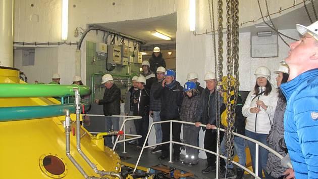 Přečerpávací vodní elektrárna Dalešice.