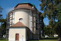 Kostel v Litohoři.