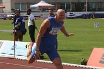Petr Svoboda opanoval ve Zlíně sobotní závod běhu na 110 metrů překážek.
