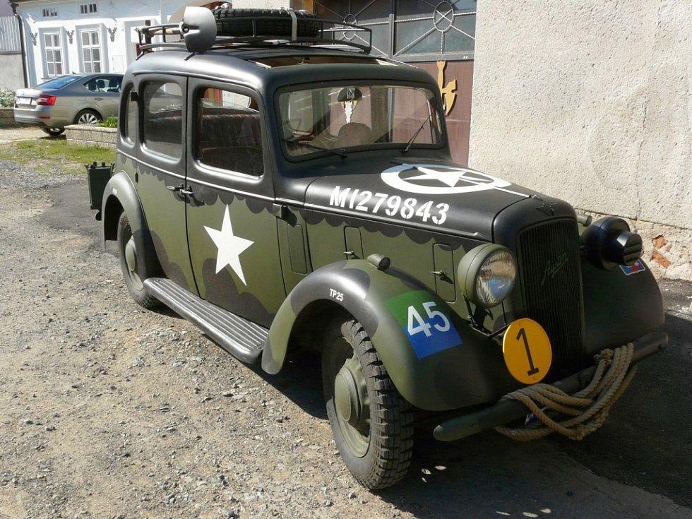 Historické automobily.