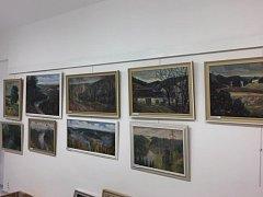 I obrazy Bohumila Vostala budou  o víkendu k vidění v rámci Dní otevřených galerií.