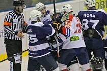 Hokejisté Třebíče zakončili sezonu domácí porážkou 1:5 od Mostu.