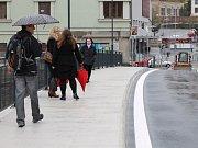 Po roce se znovu otevřel Podklášterský most .