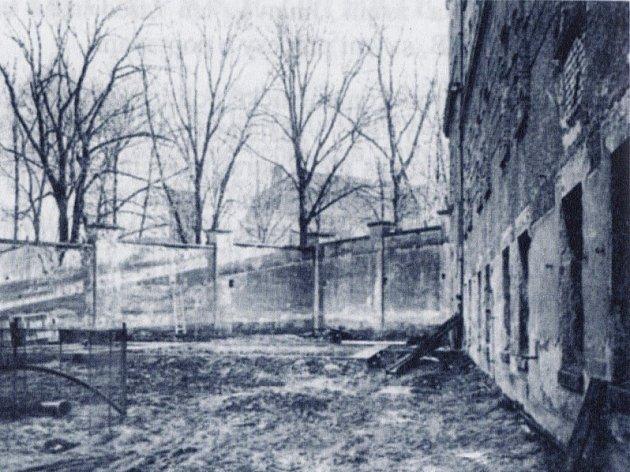 Popraviště vareálu jihlavské věznice.