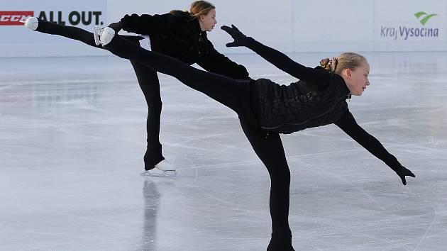 Led na třebíčské Hvězdě je záchranou pro krasobruslaře a mladé hokejisty