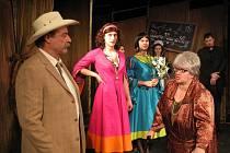 Něžné dámy je název divadelní komedie, kterou v třebíčském divadle Pasáž uvede Docela velké divadlo Litvínov.