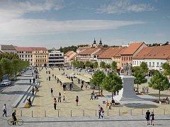 Plánovaná podoba části Karlova náměstí.