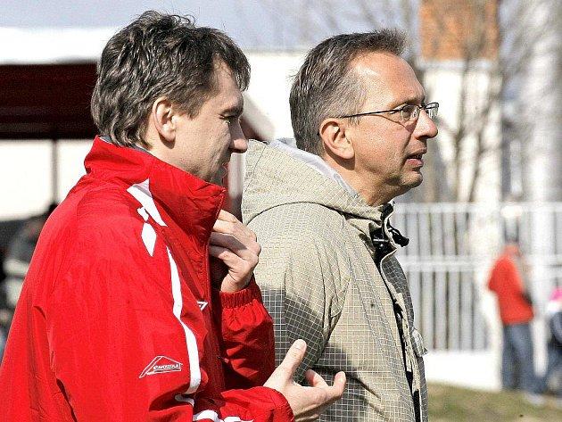 Libor Zelníček (vpravo).