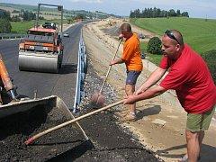 Otevře se část silnice mezi Jihlavou a Třebíčí.