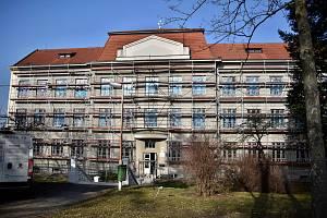 Budova Gymnázia a střední odborné školy v Moravských Budějovicích