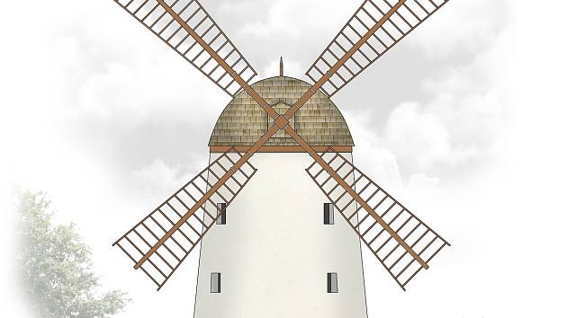 Jak bude vypadat opravený mlýn v Třebíči na Kanciborku.