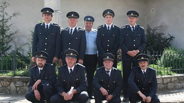 Bochovičtí hasiči v minulosti mnohokrát chránili majetek obyvatel místních i z okolních vesnic.