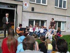 Významné výročí oslavili o víkendu v Základní škole Studenec.