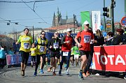 Pražský půlmaraton.