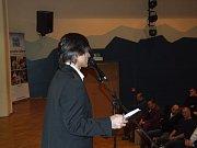Vylášení ankety moderoval tradičně její organizátor a místostarosta Třebíče Milan Zeibert.