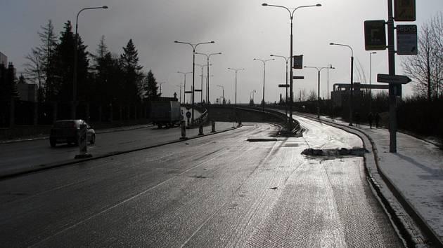 Oprav se dočká ulice Sportovní i rampy, které patří ŘSD.