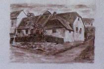Starou Třebíč na obrazech místního rodáka Luboše Šenkýře si lidé mohou prohlédnout v Městské knihovně v Třebíči.
